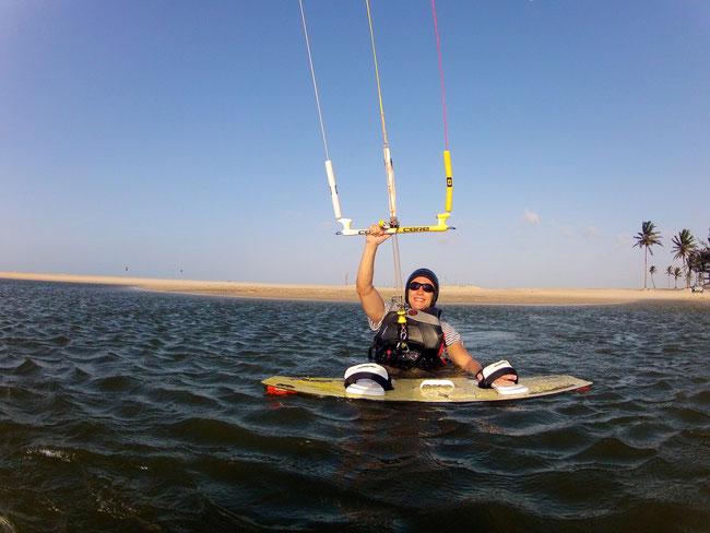 Kiteschule Cumbuco Guesthouse Kiten lernen in Brasilien !