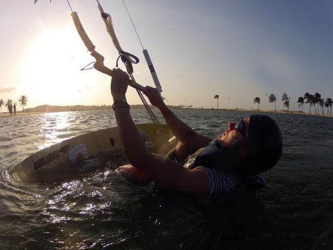 Kiteschule in Cumbuco Brasilien