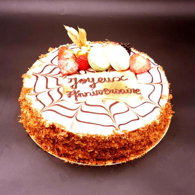 Le Fraisier - Site de boulangerie-vd.fr