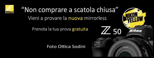 Foto Ottica Sodini  mette in campo un'interessante iniziativa  dedicata  a  tutti coloro che non vogliono comprare  a scatola chiusa:  si potrà infatti provare gratuitamente