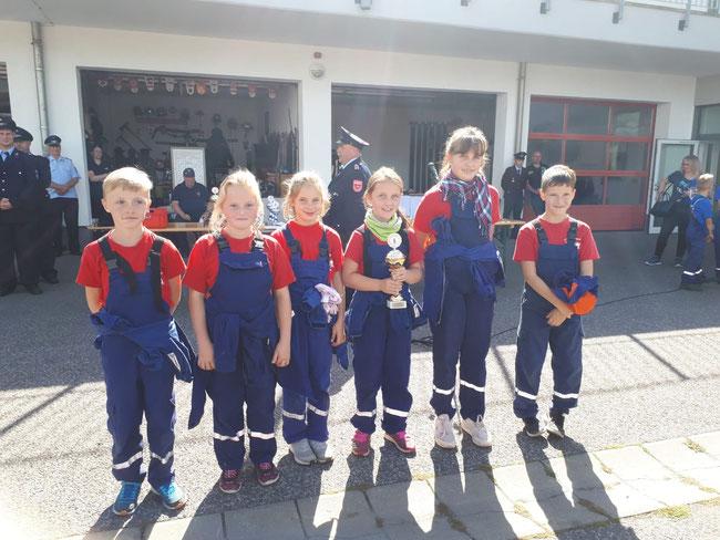 Foto: Privat Kinderfeuerwehr Cochstedt 2. Platz