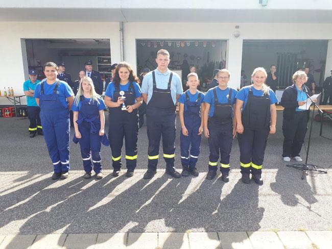 Foto: Privat Jugendfeuerwehr Cochstedt 2. Platz