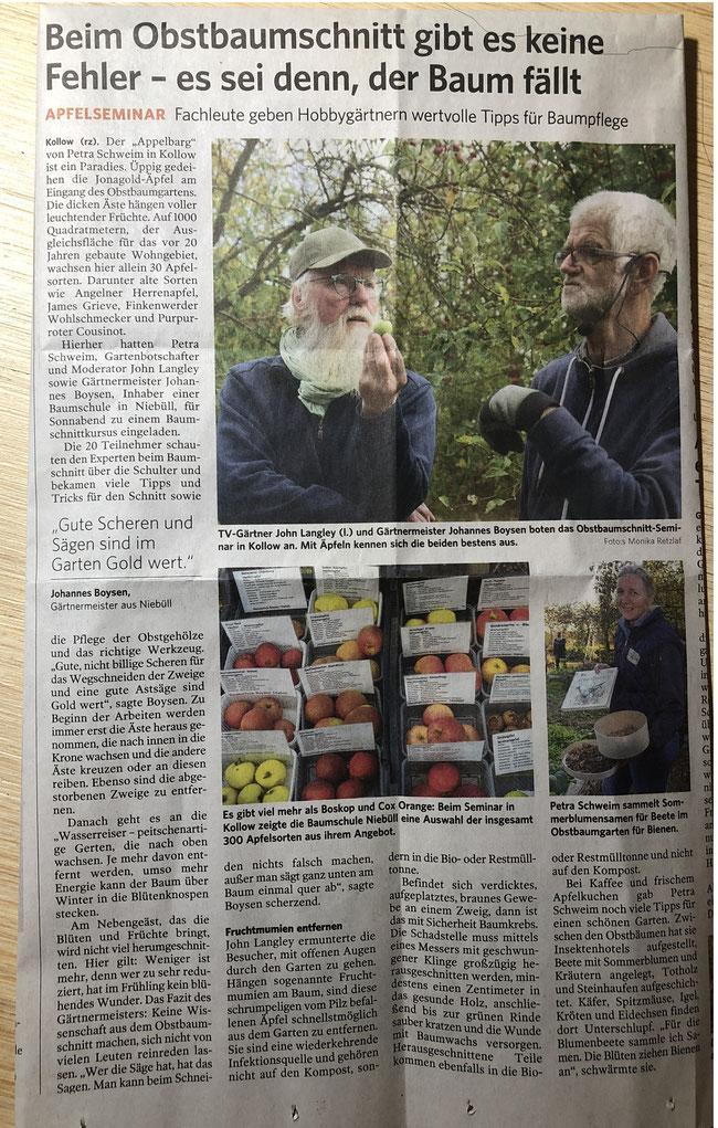 Bergedorfer Zeitung vom 22.10.2018