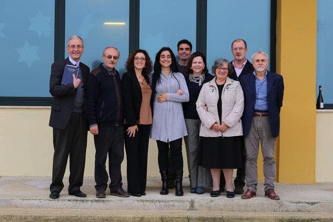 Attuale Comitato Esecutivo eletto nella AG del 2018. ( Foto Pietro Romeo)