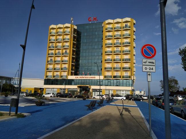 Ill Grand Hotel di Montesilvano Marina dove si è svolta l'AG del 2018. ( foto Consoli Silvio )