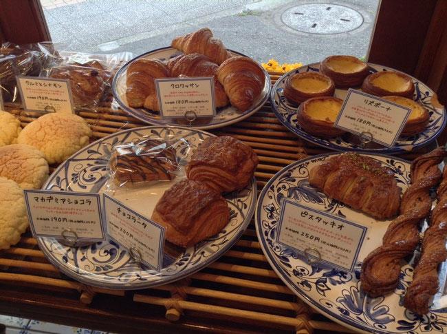 たくさんの種類のパン達