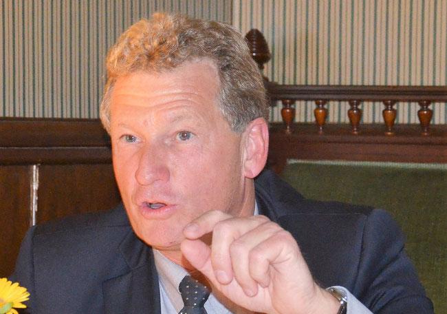 """Dr.Bernd Buchholz:""""Es ist eine vordringliche Aufgabe, den Bau der S4 in der kommenden Legislaturperiode durchzusetzen."""""""