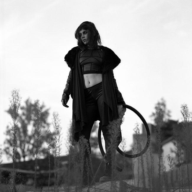 image: nina luca, VJP, VJP photography, waste land, waste land warrior, gas mask, madness is, madness is clothing, church of sanctus, sanctus clothing, post apocalyptic fashion, swiss geeks, dark fashion blog, dark fashion style, dark fashion feed