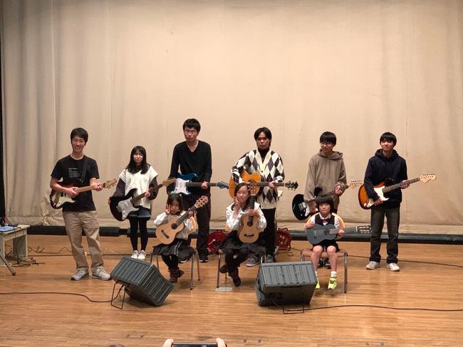 2020年11月29日 やしお生涯楽習館多目的ホール 間中ギター教室冬季発表会
