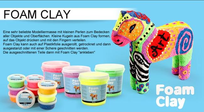 Spielwaren-Kröll, Wolkenschleim, Foam Clay