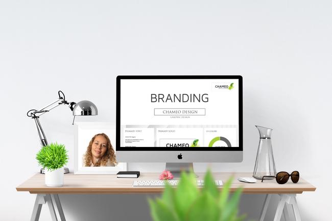 Branding Chameo Design