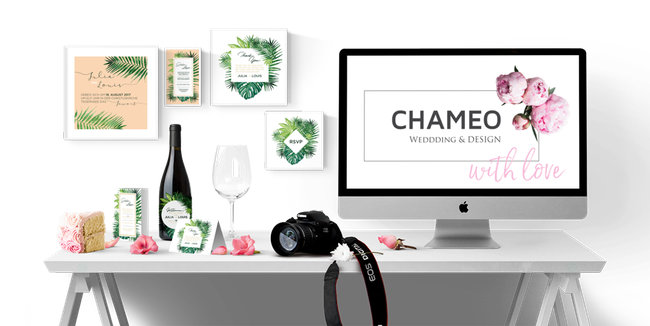 Welcome to Chameo wedding design- maybe the most lovely part of our business!
