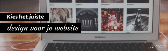 Jimdo webdesign kiezen