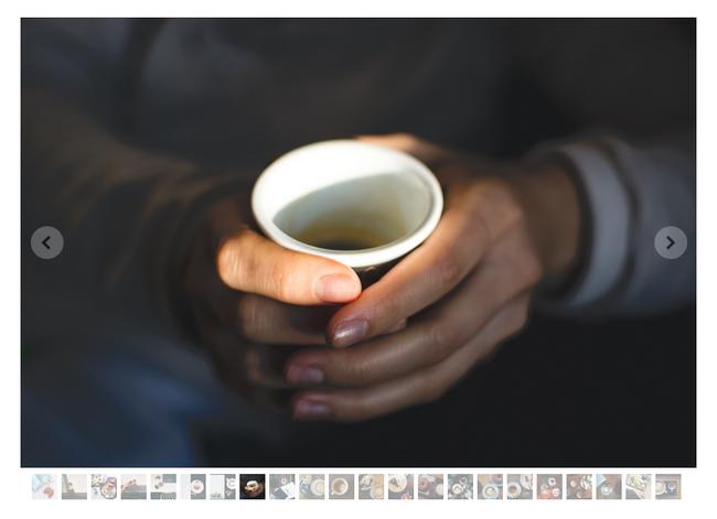 Nieuwe fotogalerij: slider