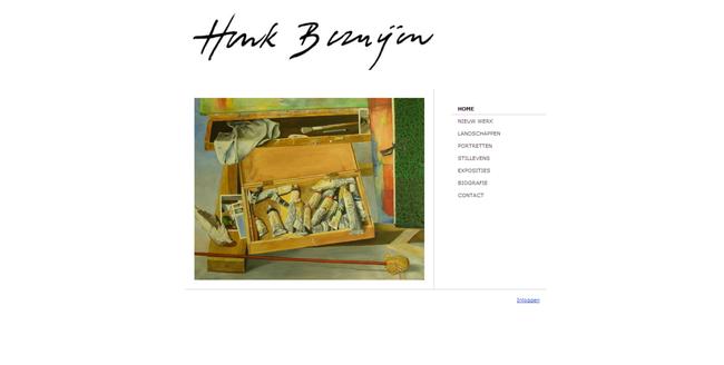 Schilderwebsite van kunstschilder Henk Bezuijen