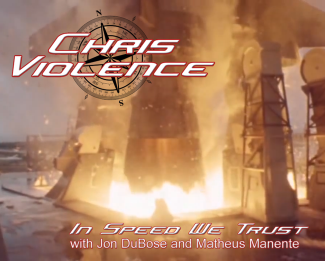 "Chris Violence Reveals ""In Speed We Trust"" Music Video Artwork!"