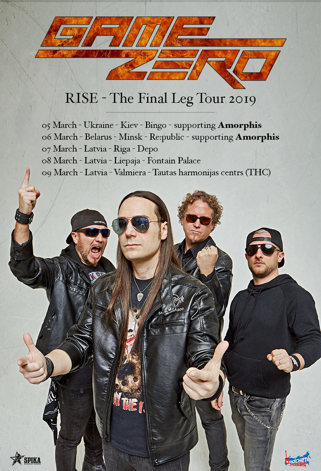 Game Zero  Spring Tour 2019 Rockers And Other Animals, Rock News, Rock Magazine,  The City With No Ends ,Rock Webzine ,