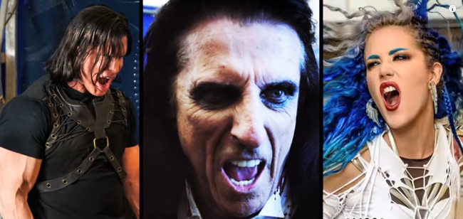 "Kane Roberts brand new video for ""Beginning Of The End"" feat. Alice Cooper and Alissa White-Gluz, rockers and other animals, rock news, rock magazine"