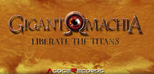 """Liberate The Titans"", melodic death metal, epic metal, Gigantomachia,  single, lyric video, agoge records"
