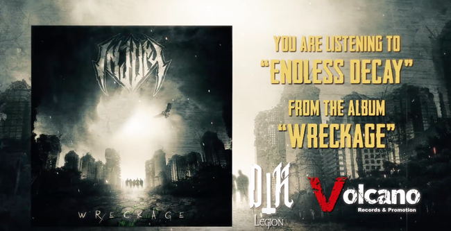 Endless Decay, new lyric video  for Injury