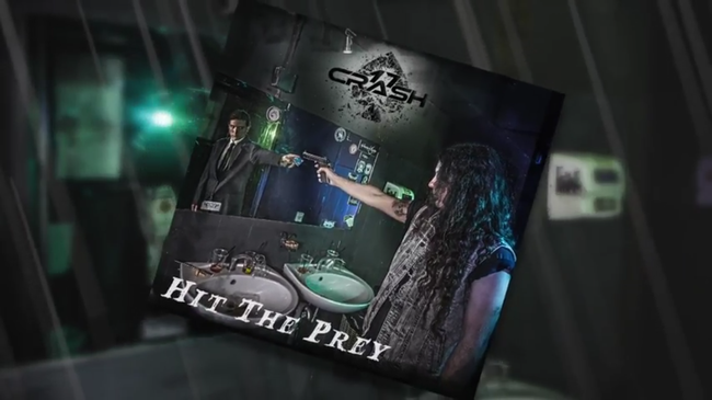 """Hit the Prey"", 17crash, v olcano records, hard rock, glam rock, new single"