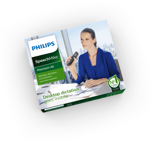 Philips SpeechMike air SMP4000 SMP4010