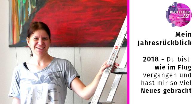 Mein Jahresrückblick 2018 - Kunst in Leipzig in der Galerie