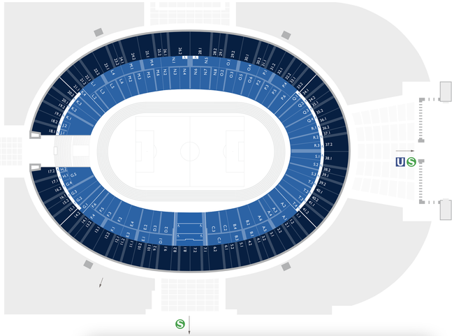 Stadionplan Olympiastadion Berlin / Sitzplan Hertha BSC Berlin (Quelle: https://olympiastadion.berlin/de/sitzplaene/)
