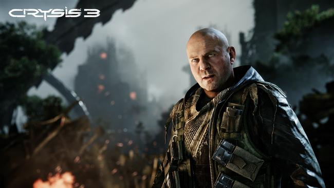 Un fotogramma di Crysis 3