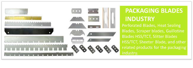Blades For Packaging Industry