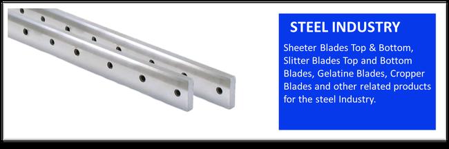 Blades For Steel Indusrty