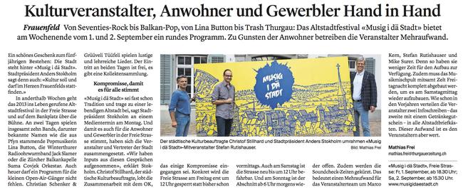 Thurgauer Zeitung 23.08.2017