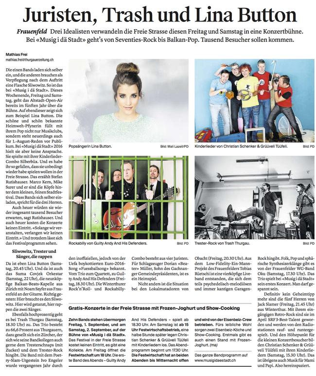 Thurgauer Zeitung 30.08.2017