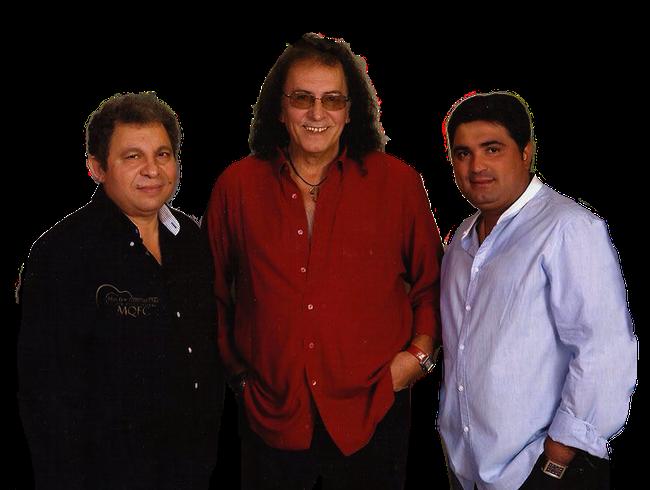 José María Rodríguez y Antonio Sánchez Concha yLuis Sánchez forman el actual trío formado en Barcelona