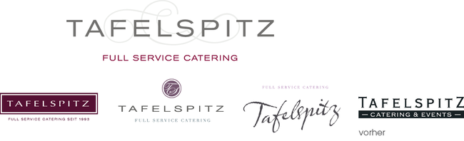 TAFELSPITZ - Full Service Catering - Logoentwicklung - DesignKis - 2012