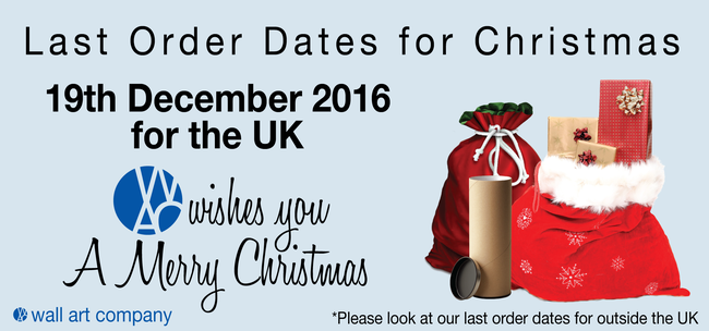 Last order dates for Christmas postage
