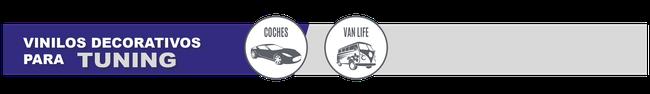 retovinilo, vinilos decorativos, vinilos para vehículos, vinilos tuning, personalización de vehículos, pegatinas tuning, vinilos bandas laterales, vinilos para capós