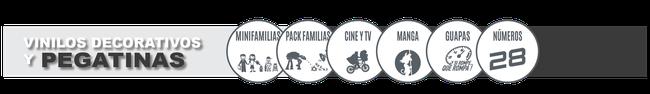 retovinilo, vinilos decorativos, pegatinas, pegatinas minifamilias, pegatinas familias personalizadas, pegatinas cine y tv, pegatinas manga, pegatinas guapas, pegatinas números