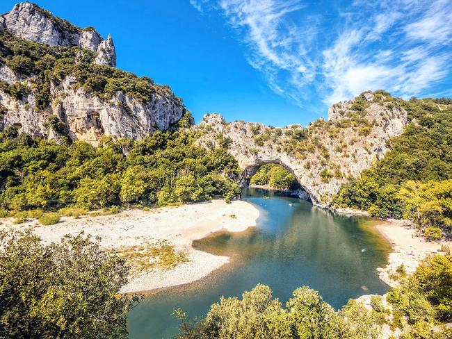 Le Pont d'Arc, dans les Gorges de l'Ardèche