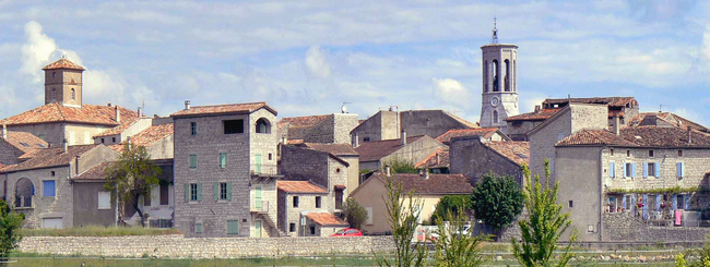 Saint-Alban-Auriolles in southern Ardèche