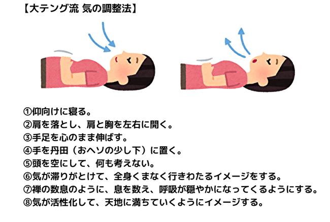 【大テング流 気の調整法】