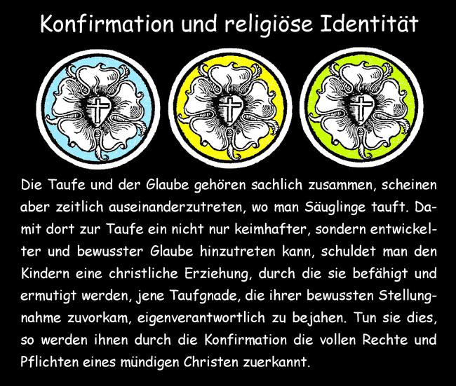 Konfirmation und religiöse Identität