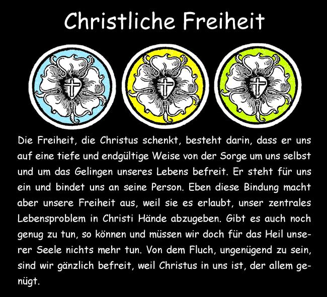 Christliche Freiheit