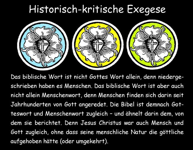 Historisch-kritische Exegese