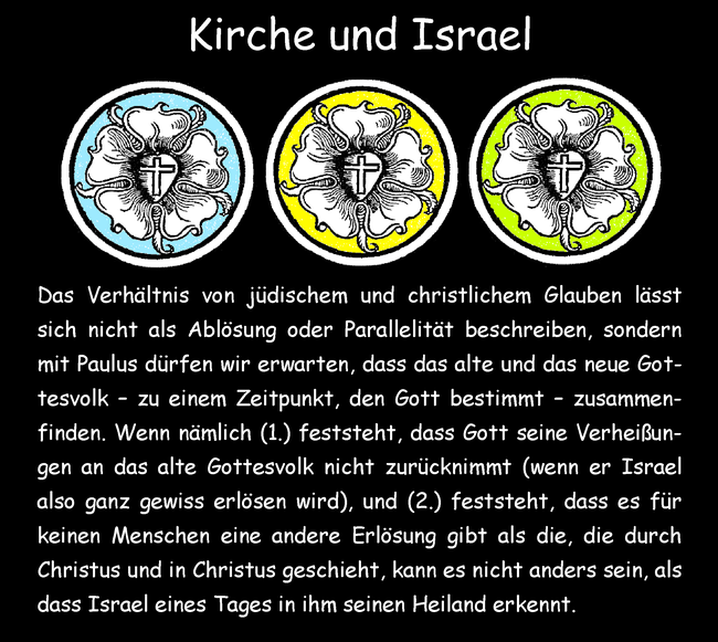 Kirche und Israel