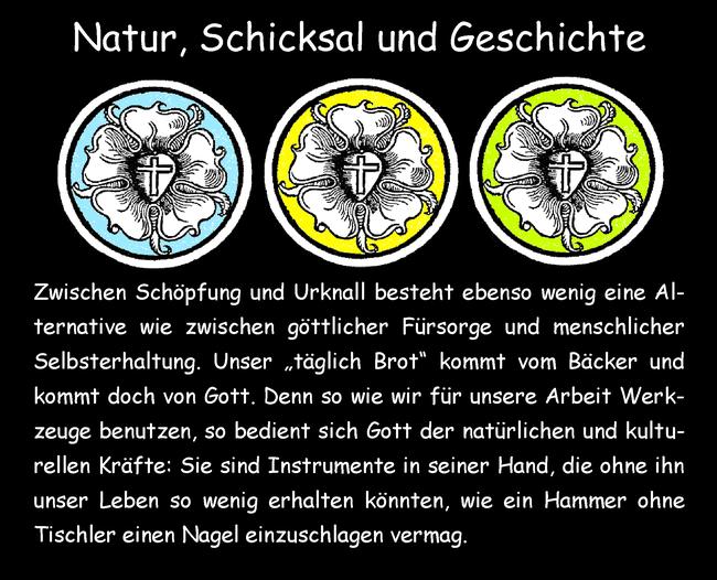 Natur, Schicksal und Geschichte
