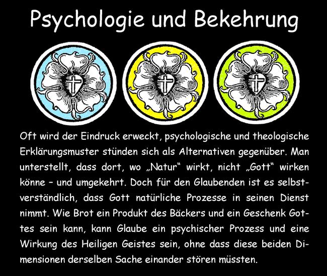 Psychologie und Bekehrung