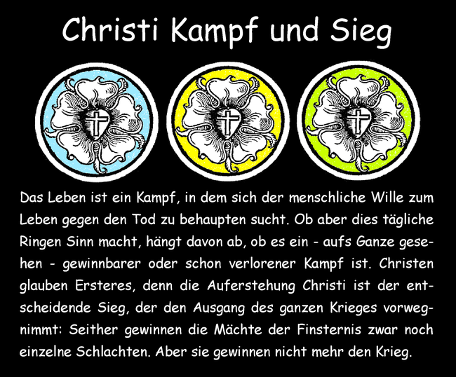 Christi Kampf und Sieg