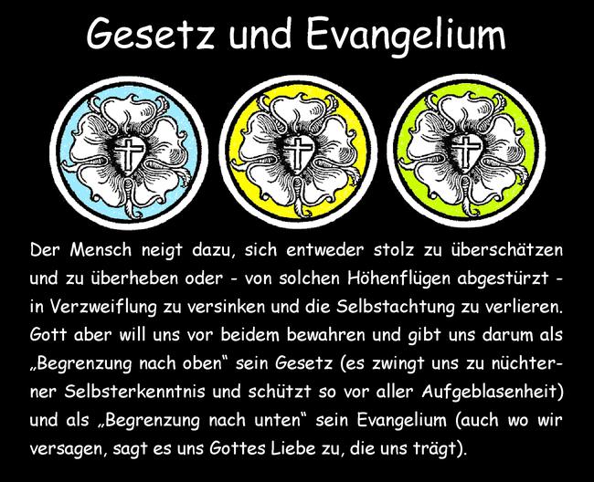 Gesetz und Evangelium