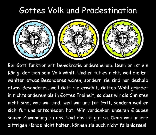 Gottes Volk und Prädestination